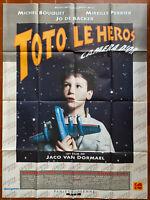 Plakat Toto Le Heros Jaco Van Dormael Michel Bouquet Sandrine Blancke 120x160cm