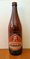 Vintage 1960s Champlain Porter beer bottle empty Québec Canada