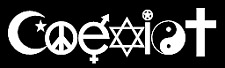 Coexist inspirational peace love vinyl decal car bumper sticker 126