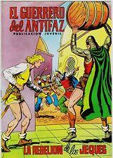 EL GUERRERO DEL ANTIFAZ (Reedición color) nº: 110.  Valenciana, 1972-1978.