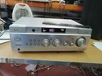 Aiwa AV-NW30K Av surround amplifier, hi-fi amp slight fault  (314)