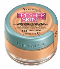 Rimmel London Fresher Skin Foundation SPF 15 - Shade 400- Natural Beige