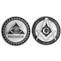 Commemorative Souvenir Coin Collection Confederation of Freemasons Tourism Gifts