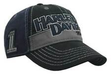 Harley-Davidson Men's Block H-D Name Baseball Cap BC10389