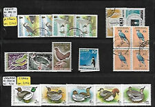 485967 / Vogel Fauna Lot Siehe Scan