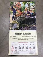 """Grandma Takes Off"" Hy Hintermeister 1964 Print/Calendar Harder City Iowa 15x33"