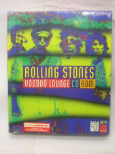 Rolling Stones Voodoo Lounge CD ROM New in Sealed Box 1995 Teen Mac/PC Animation