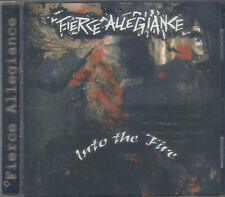 FIERCE ALLEGIANCE-INTO THE FIRE-CD-metalcore-thrash-dead syndicate-the haunted