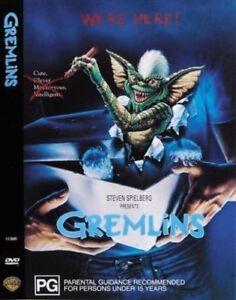 GREMLINS DVD - REG 4 AUST - Cult Classic Movie 1999 PG KIDS Horror
