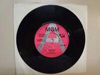 "JETHRO TOE: (Pre-Jethro Tull) Sunshine Day- Aeroplane-U.K. 7"" 1968 MGM 1384 Demo"