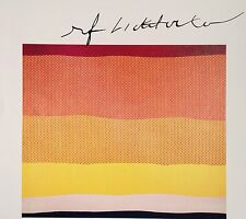 ROY LICHTENSTEIN HAND SIGNED SIGNATURE * SEASCAPE II * PRINT  W/ C.O.A.