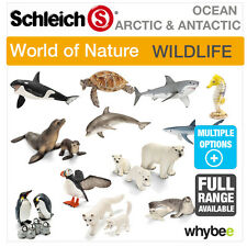 SCHLEICH WORLD OF NATURE ARCTIC & ANTARCTIC ANIMAL TOYS & FIGURES FIGURINES