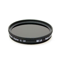 Heliopan 39mm Neutral Density ND3.0 ( 10 Stop Filter ). Brand New