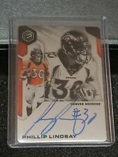 2019 Panini Elements Phillip Lindsay Steel Signatures Auto 147/199