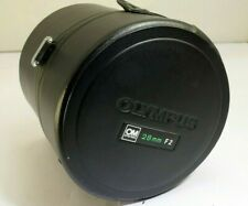 Olympus LENS protective Case for OM Zuiko 28mm f2.0 lens (damaged AS IS)