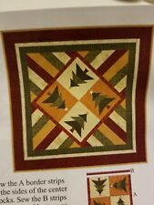 """Victorian Country Table Topper Quilt Kit by Connecting Threads 39"""" x 39"""""""