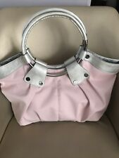 BOBBI by SHARIF Hobo Shoulder Bag in PINK SILVER - NEW!