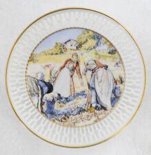 "Bing & Grondahl Mini Plate "" Potato Harvest "" Mint In Box"