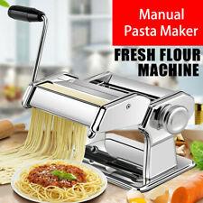 Stainless Steel Pasta Lasagne Spaghetti Tagliatelle Maker Machine Kitchen Tool.