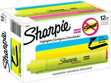 Sharpie Tank Highlighters Chisel Tip Yellow Highlighter Pens 12 Count