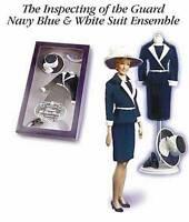 Franklin Mint Princess Diana Doll Clothes Inspecting the Guard Navy Ensemble MIB