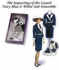 Franklin Mint Princess Diana Doll Clothes Inspecting the Guard Navy Ensemble MIB