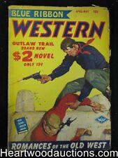 Blue Ribbon Western Apr 1950 Outlaw Trail