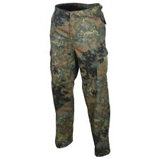 US Ranger BDU Trousers - Flecktarn Camo Combat Army Pants Military All Sizes New