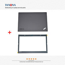 New Lenovo Thinkpad T440 Top LCD Back Cover Rear Lid + Bezel Sheet W/CAM port