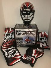 Franklin Sports 12436 NHL RED Mini Hockey Goalie Equipment with Mask Set NEW