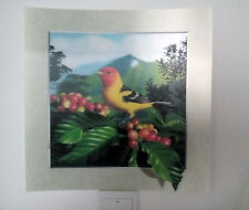 bird 5D Lenticular  Holographic Stereoscopic Picture Wall Art
