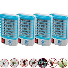 4Pcs Electronic Indoor Mosquito Killer Bug Zapper Insect Trap Flying Pests Lamp