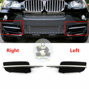 LEFT FRONT BUMPER N/S GRILLE WITH SILVER TRIM SPECIFICAT For BMW X5 E70 2007-10