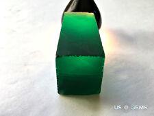 Emerald light #M0/3. Rough 67 gr. Monosital Created Gemstone. US@GEMS