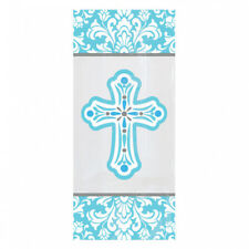 Blue Communion/Christening Party Favour Bags x 20