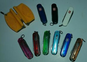 Victorinox NrMT++ CLASSIC SD & SD LITE 🌈 Multicolor Swiss Army Lot & Blade Tool