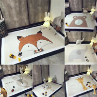 195X145cm Cute Animal Soft Rectangle Baby Kid Play Mat Activity Crawling   L9