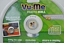 Golf Ball Digital Photo Frame, Vu-Me By Senario