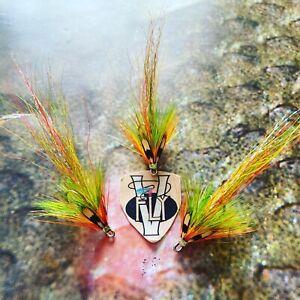 3 V Fly Size 8 Ultimate RV Finnmark Super Highlander Double Salmon Flies