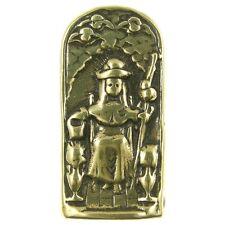 SANTO NINO DE ATOCHA Pocket Shrine, bronze, cast from antique Mexican original