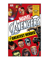 Marvel Avengers The Greatest Heroes World Book Day 2018 by Alastair Dougall