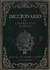 Diccionario de castellano antiguo. NUEVO. Envío URGENTE (IMOSVER)