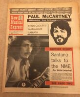 NME 1267 MAY 9 1971 SANTANA McCARTNEY BYRDS NEIL YOUNG FACES COCKER STONES LULU