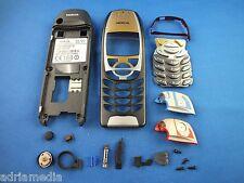 ORIGINALE Nokia 6310 6310i Set di riparazione JET BLACK CUSTODIA COVER ALTOPARLANTE