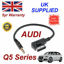 AUDI Q5 Series ami mmi 4f0051510f Música Interfaz Jack de 3.5mm Entrada Cable
