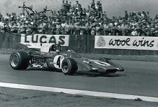 Jacky Ickx Hand Signed Ferrari Photo 12x8.