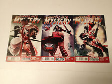 JOURNEY INTO MYSTERY lot of 3 issues #647,649,650 Marvel Comics 2013 VF Thor Sif