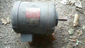 Rockwell Marathon 1/2 hp motor 3 phase 1725/1425 rpm tdr-b7 230/460v 86-529 USA