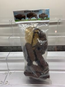 Barzso Buffalo Herd in original package 54 mm Rare HTF