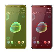 2x Schutzfolie für HTC Desire 12 inkl. Rundung Flex Folie dipos Display Schutz